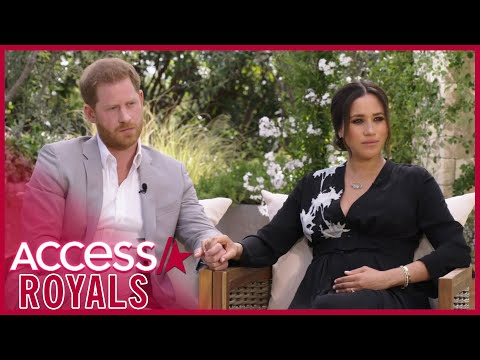 Meghan Markle & Prince Harry's Explosive Oprah Interview Sneak Peek