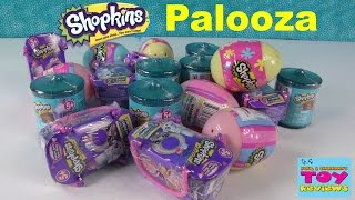 Shopkins Surprise Eggs Food Fair Fashion Spree Opening Palooza | PSToyReviews