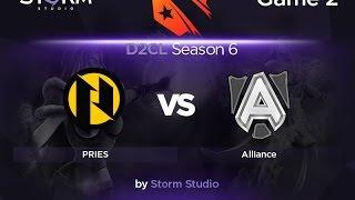 Alliance vs PRIES, game 2
