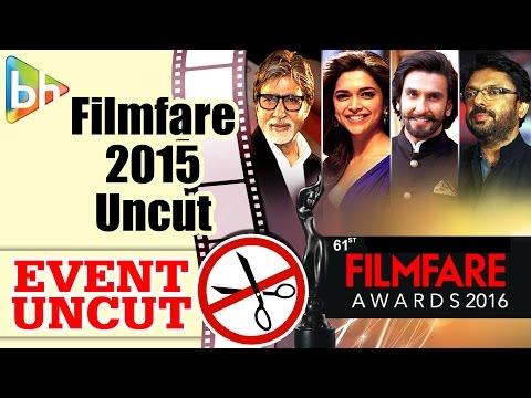61st Britannia Filmfare Awards 2015   Event Uncut