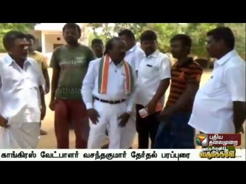 Congress-Nellai-candidate-Vasanthakumar-campaigns-in-his-constituency