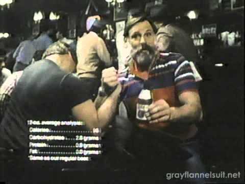 Miller Lite TV Commerial (1982) feat. Ben Davidson