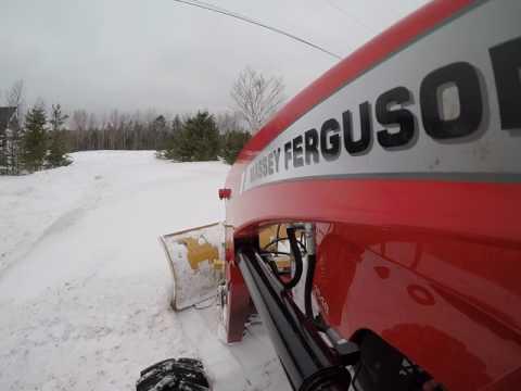 Snow'match for a Massey
