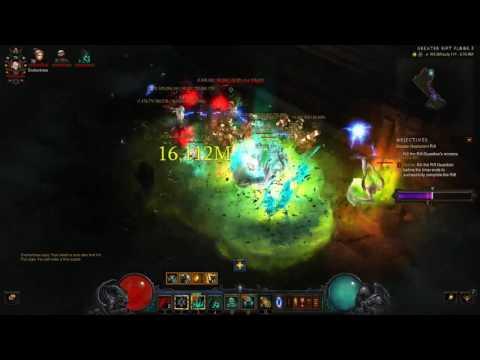 Rank 1 Season 11 Necro Solo Greater Rift 111 (Diablo 3 Necromancer Beta) - Rathma's Set (видео)