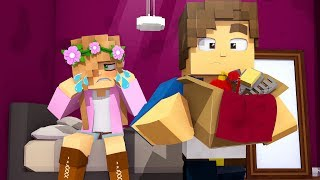 MY ROOMMATE IS STEALING FROM ME !! | Minecraft Little Kelly | Custom Roleplay Adventure