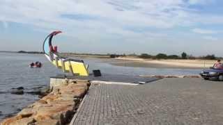 Murtosa Portugal  City new picture : Club Motorhome Aire Videos - Bico de Murtosa, Portugal