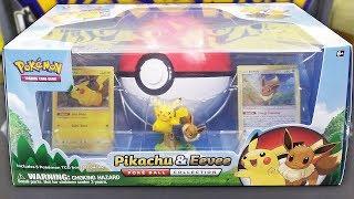 Pokemon Pikachu & Eevee Pokeball Collection Box Opening! by The Pokémon Evolutionaries