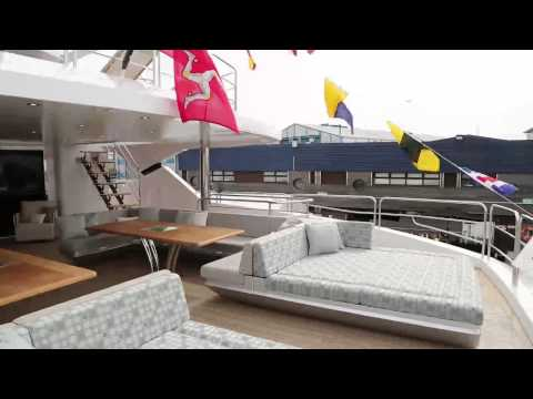 Tour of Eddie Jordan's £32m Sunseeker yacht