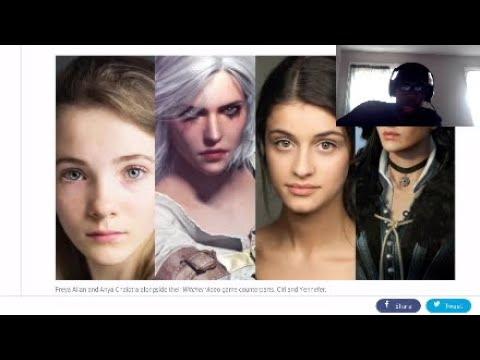 Witcher Netflix Ciri and Yennifer castings look good + Show Runner killing it in interview!!!