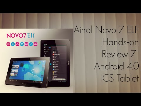 Ainol Novo 7 ELF Hands-on Review 7