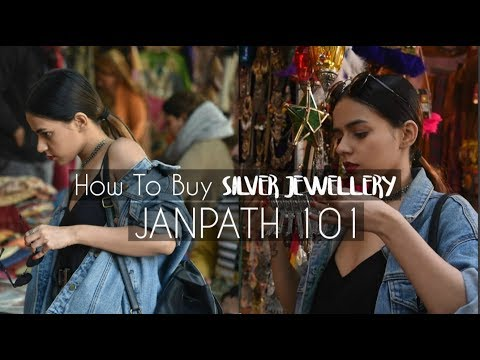 How To Buy Silver Jewellery | Janpath 101 | Komal Pandey