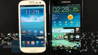 Samsung Galaxy S III vs Samsung Galaxy Note