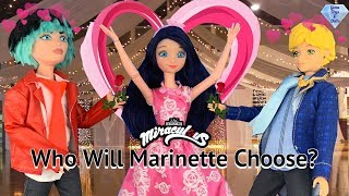 Ladybug Homecoming Marinette Asks Adrien King and Queen Dolls Dance Miraculous Season 2 Episode