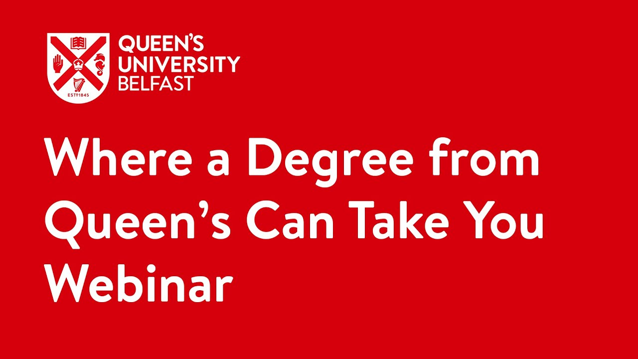 Video Thumbnail: Where a degree from Queen's can take you