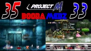 A few days ago I made a post about some videos my friend and I had done in Project M, including our VS series where we raced to beat all events on hard mode first. Here's the finale!