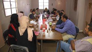وفد من التعاون الاسباني والاغاثة الزراعية يزور جمعية سيدات ذنابة