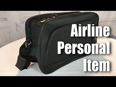 Airlines personal item sized, 16