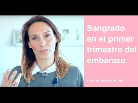 Sangrado en el primer trimestre del embarazo | Arancha Matrona (vlog24)
