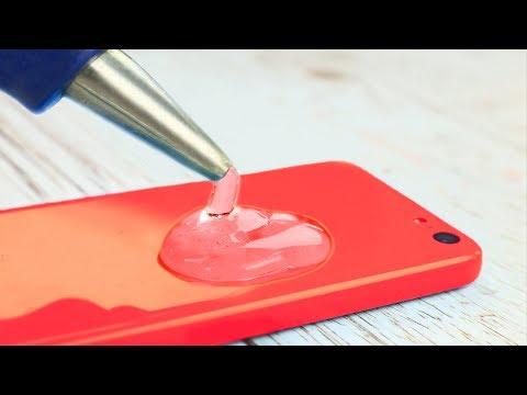 15 Hot Glue Gun Life Hacks For Crafting (видео)