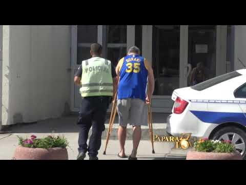 Miki Đuričić IZA REŠETAKA: Nakon saslušanja određen mu je pritvor od 30 dana
