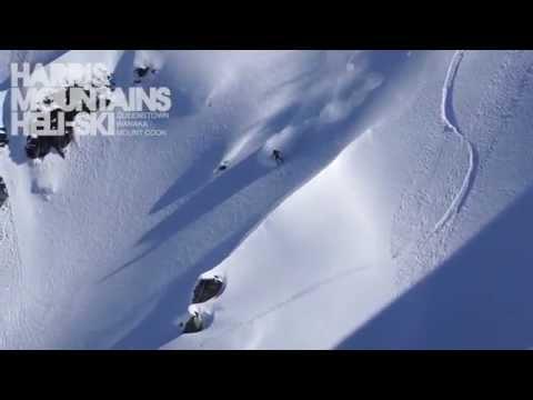 2013 Season Highlights - Harris Mountan Heli-Ski (видео)