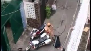 Clip thiếu nữ Sài Gòn quỳ trước CSGT khi bị bắt xe