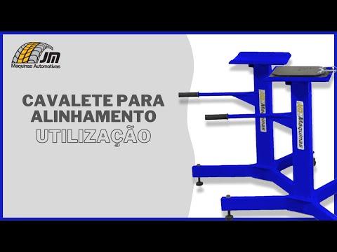 Cavaletes para Alinhamento no Elevador - Utilização