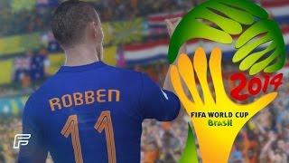 Arjen Robbens Tore bei der WM 2014