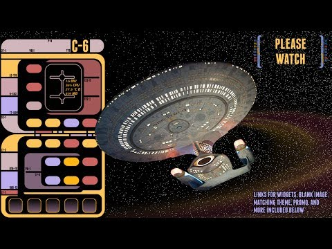 Video of STAR TREK LCARS DISPLAY LIVE 2
