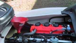 4. How to change oil on a Honda AquaTrax