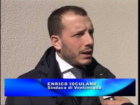 VENTIMIGLIA : ENRICO IOCULANO SUL CAMPO PROFUGHI