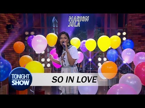 Video Marion Jola - So In Love (special Performance) download in MP3, 3GP, MP4, WEBM, AVI, FLV January 2017