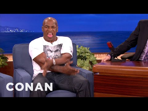 Mike Tyson on the Conan o'brien show thumbnail
