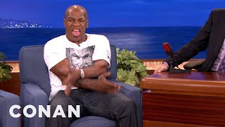 """Mike Tyson On Why """"Jesus Reigns Supreme"""" - CONAN on TBS"""