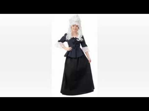 Historical Halloween Costumes 1830s To 1850′s Period Clothing Abigail Adams   Betsy Ross Vintage Vic