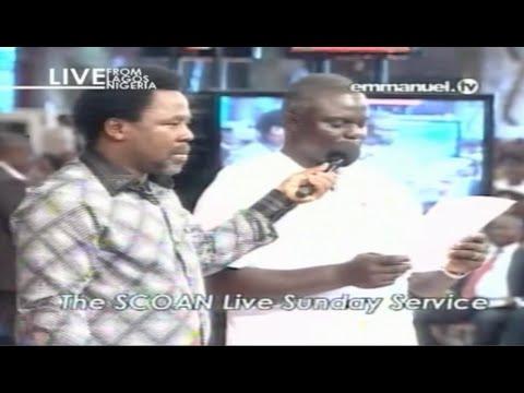 SCOAN 14/09/14: Sunday Live Service