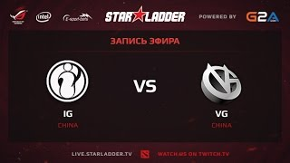 VG vs IG, game 3