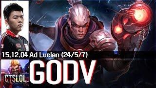 Highlight Lucian trong tay cao thủ Mid xiaohu KDA khủng 24/5/7