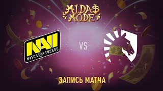 Natus Vincere vs Liquid, Midas Mode, game 3 [Lum1Sit, Mila]
