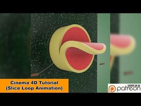 Slice Loop (Cinema 4D - Tutorial)