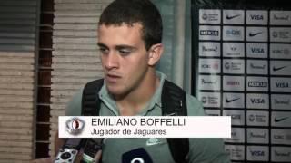 "Emi Boffelli: ""Nervioso juego mejor"""