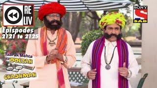 Weekly RelivTaarak Mehta Ka Ooltah Chashmah 23rd Jan To 27th Jan 2017  Episode 2121 To 2125