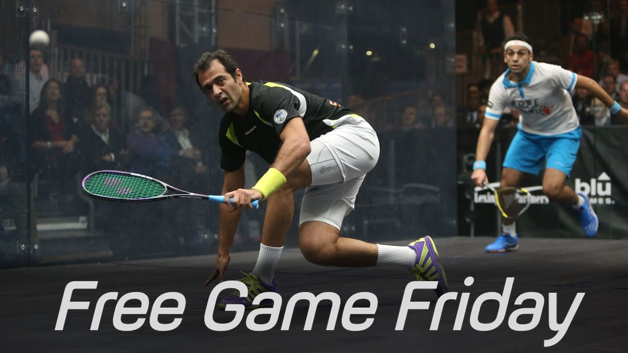 Squash: Free Game Friday – Shabana v Elshorbagy – Tournament of Champions 2015