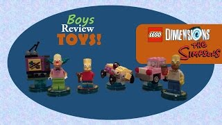 We got our hands on The Simpsons Level pack for Lego Dimensions.  We also got Krusty & Bart to add to the gameplay.  Check out Nyjah and Kaleif opening these new toys and playing some of The Simpsons level in Lego Dimensions