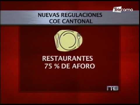 Nuevas regulaciones COE Cantonal