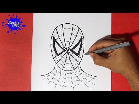 Como Dibujar Al Hombre Araña - How To Draw Spiderman