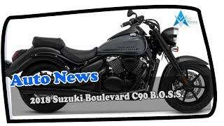 1. LOOK THIS !!!2018 Suzuki Boulevard C90 B O.S.S  Engine and Price