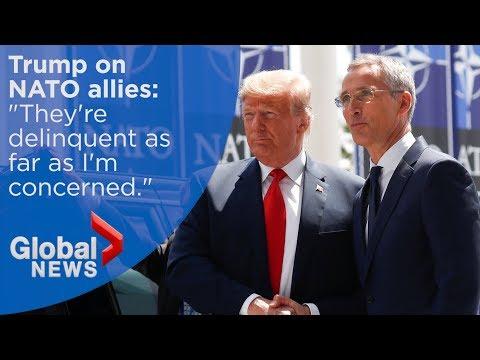 Trump calls NATO allies