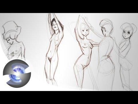 Figure Drawing Demo