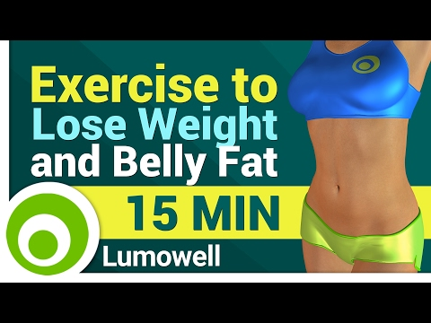 Exercise to Lose Weight and Belly Fat (видео)